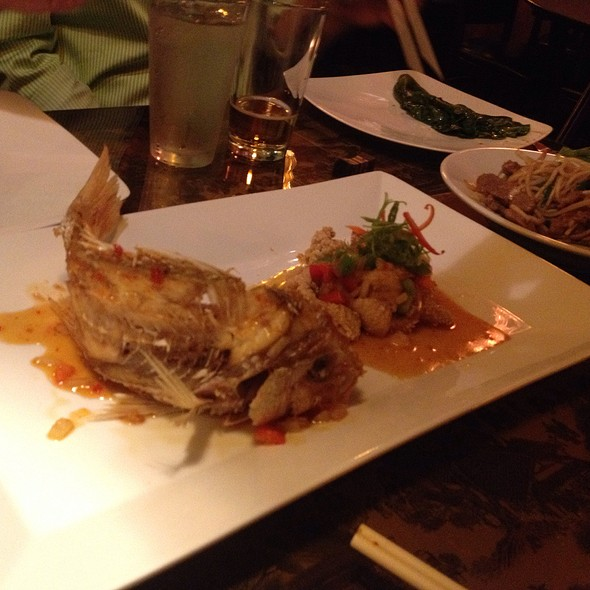 Snapper - J Wongs Thai & Chinese Bistro, Salt Lake City, UT