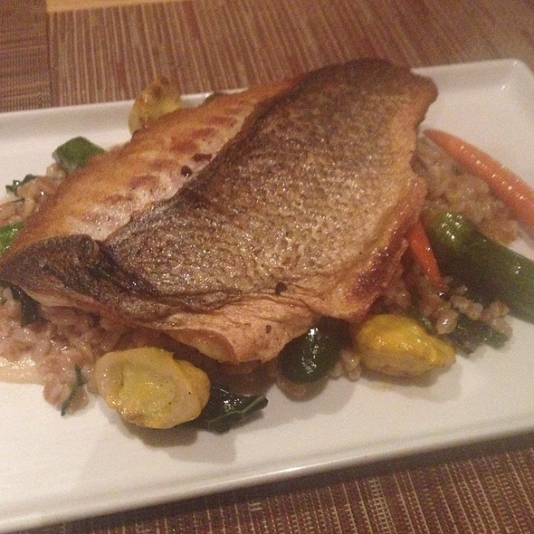 Branzino With Vegetables - BLD, Los Angeles, CA