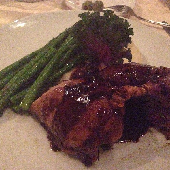 Wood-Oven Roasted Duck - Prego at the District, Tustin, CA