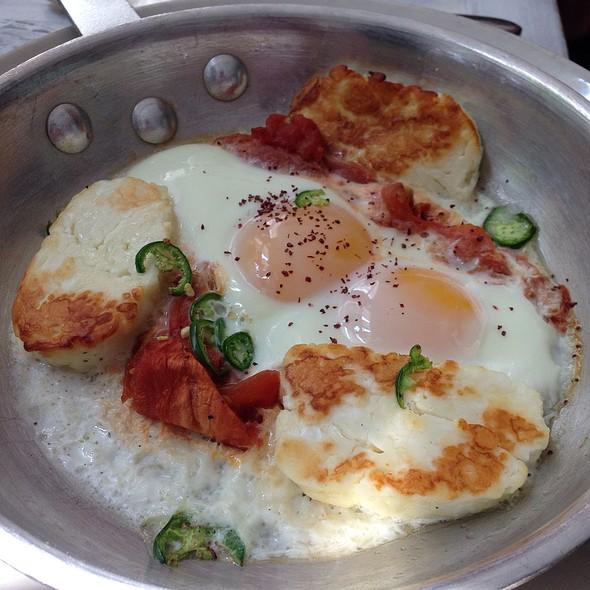Eggs Halumi - Taboon, New York, NY