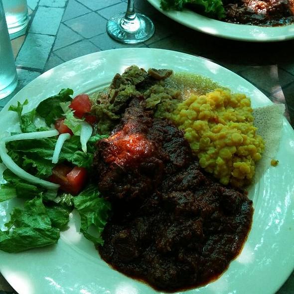 Meat Combination - Ethiopia Restaurant, Berkeley, CA