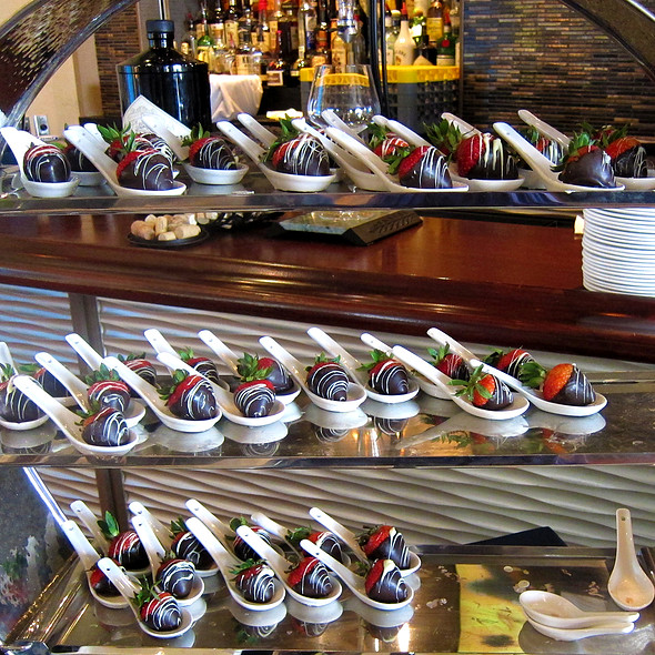 Chocolate Coated Strawberries - Aqua Star at The Westin Savannah Golf Resort & Spa, Savannah, GA