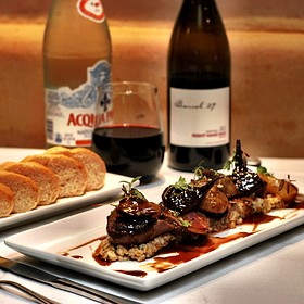 Roasted duck and a bottle of Pinot! - Cadiz, Santa Barbara, CA