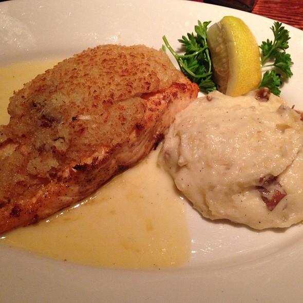 Horseradish Crusted Atlantic Salmon - Twin City Grill, Bloomington, MN