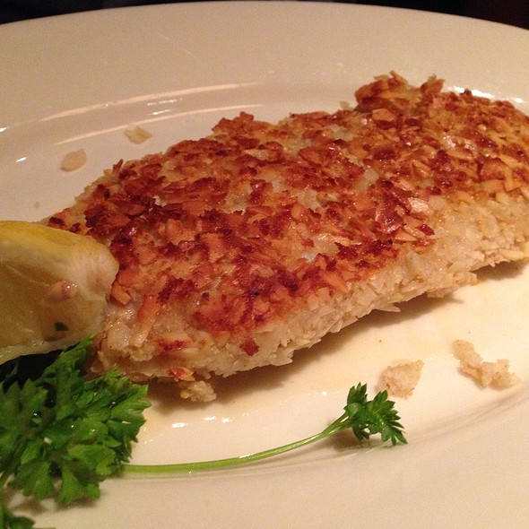 Pan-Sautéed Almond Crusted Walleye - Twin City Grill, Bloomington, MN