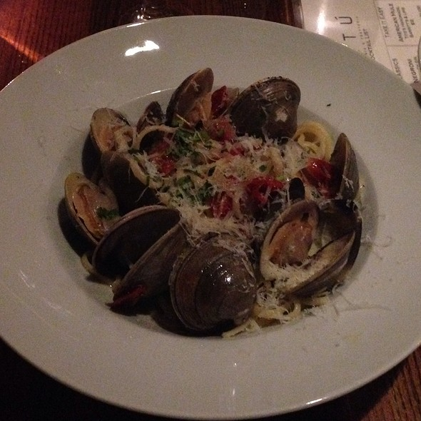 Linguine Vongole - Artu, Boston, MA