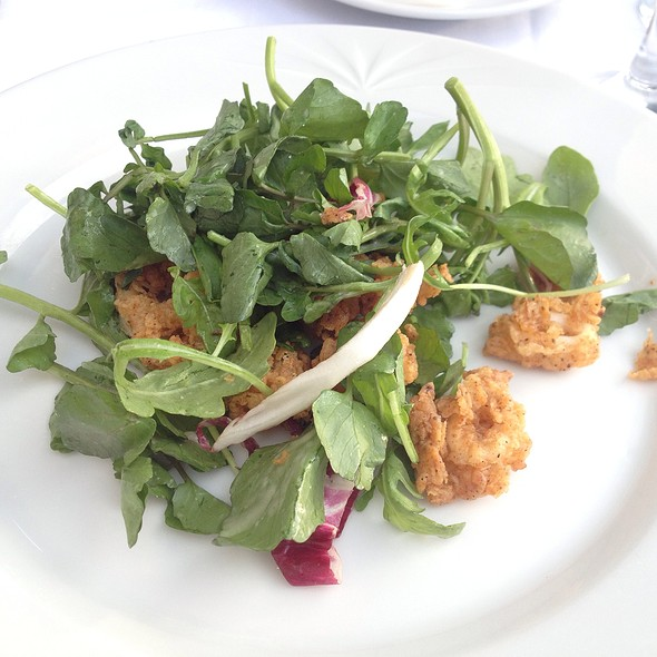 Crispy Calamari Salad - Water's Edge, Long Island City, NY