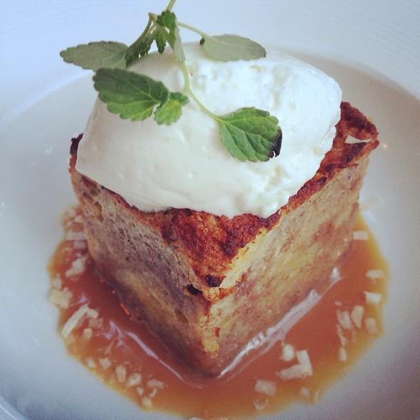 Crème Brulee Bread Pudding - Max's Harvest, Delray Beach, FL