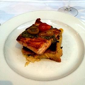 Scottish Salmon - Blue Restaurant - Charlotte, NC, Charlotte, NC
