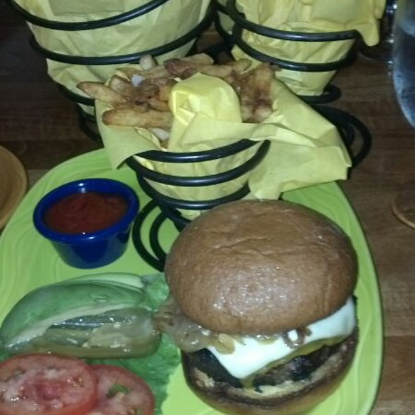 Jack's Ole Angus Burger - Spotted Donkey Cantina at El Pedregal, Boulders Resort, Scottsdale, AZ