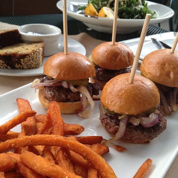 Kobe Sliders - Green Street Restaurant, Pasadena, CA