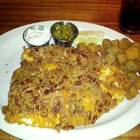 Pecan-Crusted Trout - Hefner Grill, Oklahoma City, OK