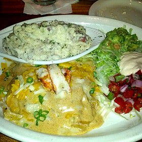 Seafood Enchiladas - Hefner Grill, Oklahoma City, OK
