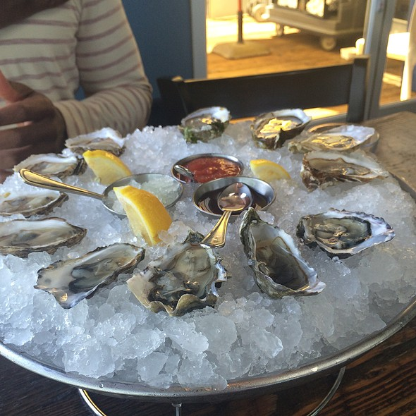 Assorted Oysters - Mission Rock Resort, San Francisco, CA