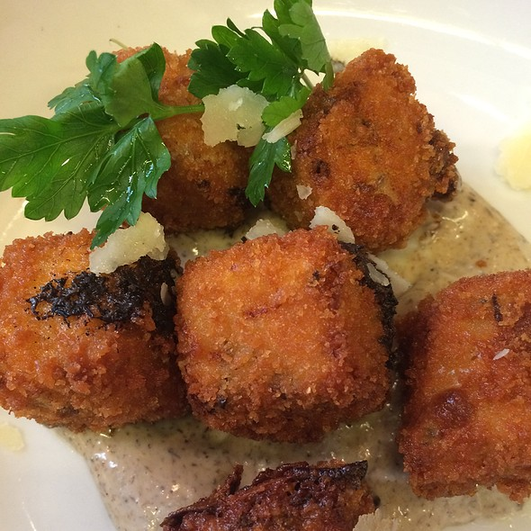 Truffle Mushroom Croquettes - FIG & OLIVE Meatpacking, New York, NY