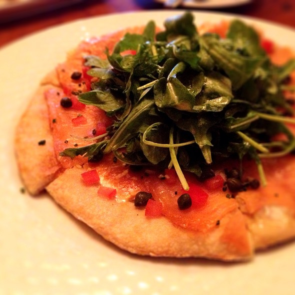 Salmon Pizza - French Hound Brasserie, Leesburg, VA