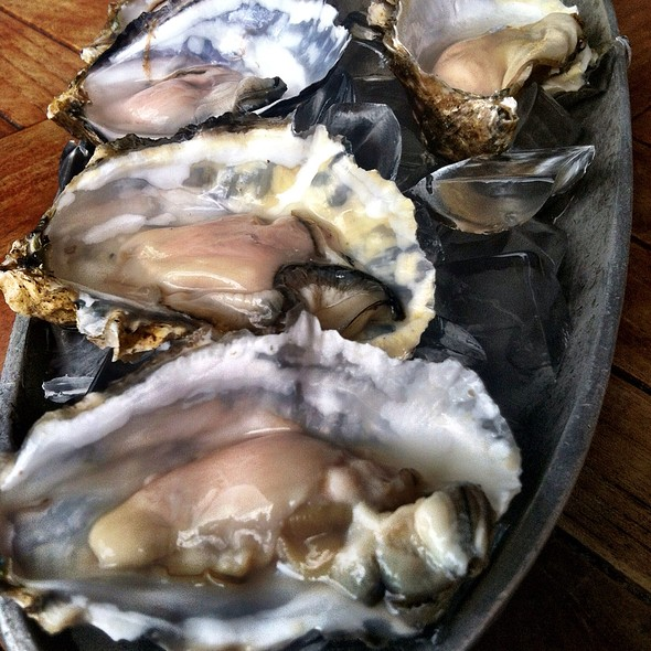 Oysters - Fish Hopper, Monterey, CA