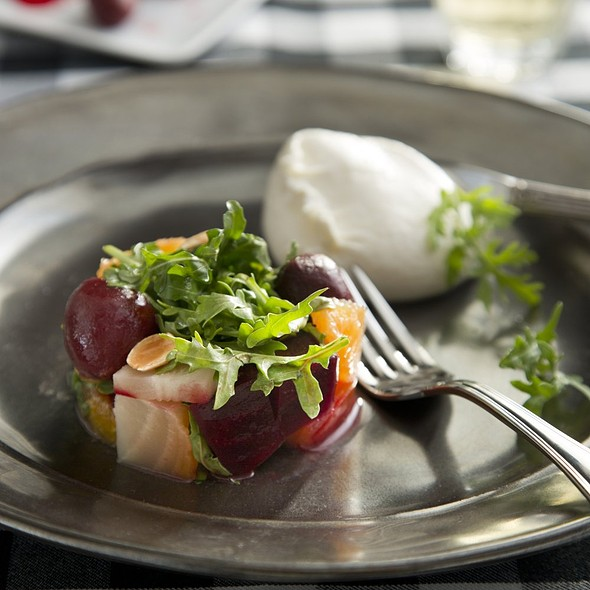 Beet And Burrata Salad  - Pacci Italian Kitchen & Bar, Savannah, GA
