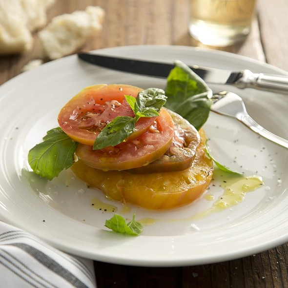 Heirloom Tomatoes - Pacci Italian Kitchen & Bar, Savannah, GA