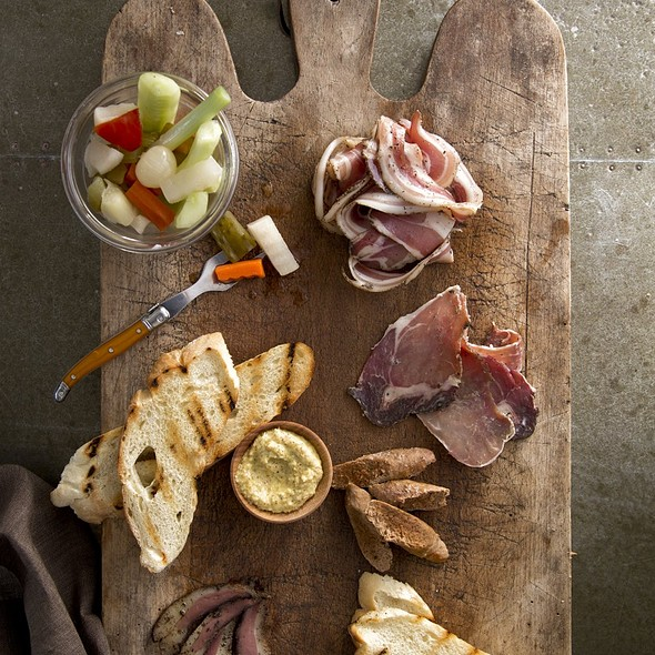 Salumi Board - Pacci Italian Kitchen & Bar, Savannah, GA