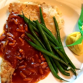 Pan Fried Trout With Mashed Potatoes - The Elkridge Furnace Inn, Elkridge, MD