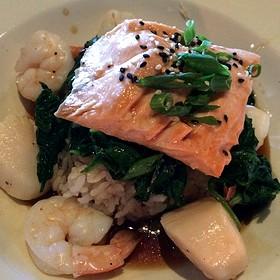 Shanghi Seafood Sampler - Mitchell's Fish Market - Lansing, Lansing, MI