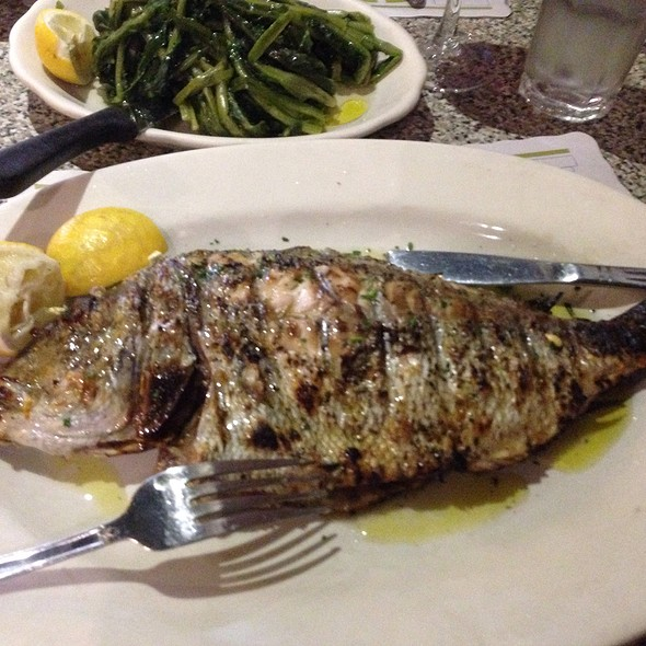 Grilled Seabass - Uncle Nick's Greek Cuisine - Chelsea, New York, NY