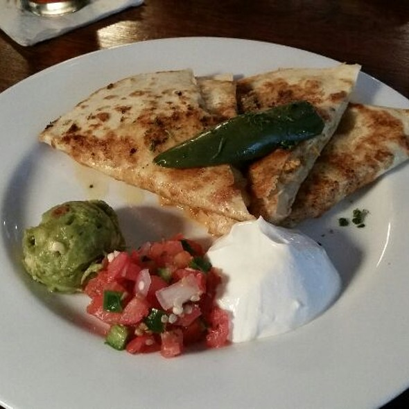 Chicken Quesadilla - Scene Restaurant & Lounge, Huntsville, AL
