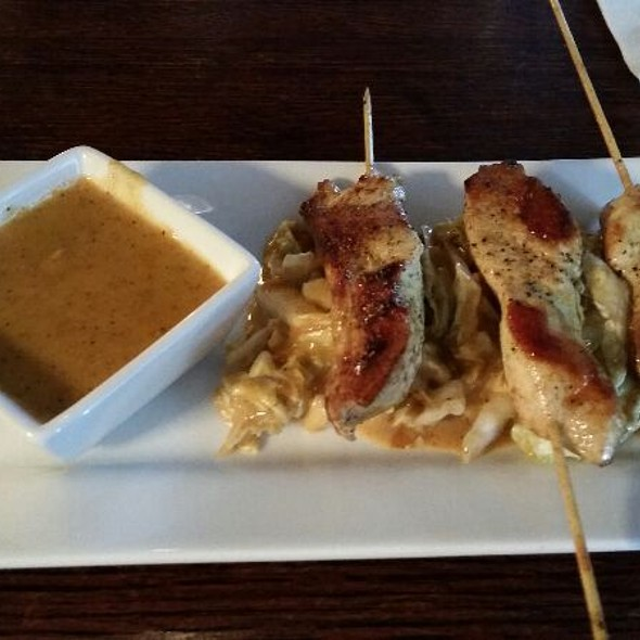 Thai chicken satay - Scene Restaurant & Lounge, Huntsville, AL
