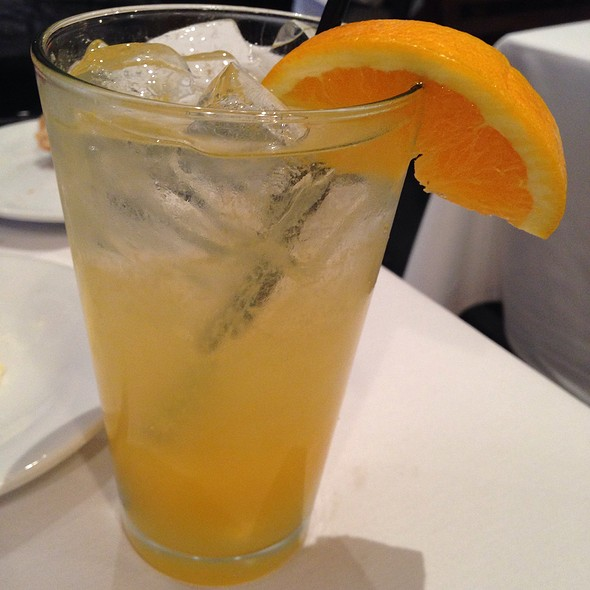 Orange Crush - Cafe Soleil, Washington, DC