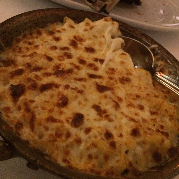 gorgonzola mac and cheese - Mastro's Ocean Club - Las Vegas, Las Vegas, NV
