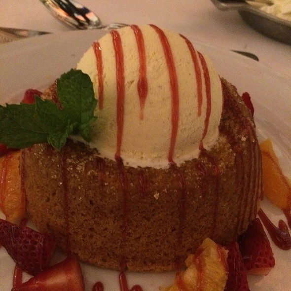 Warm Butter Cake - Mastro's Ocean Club - Las Vegas, Las Vegas, NV