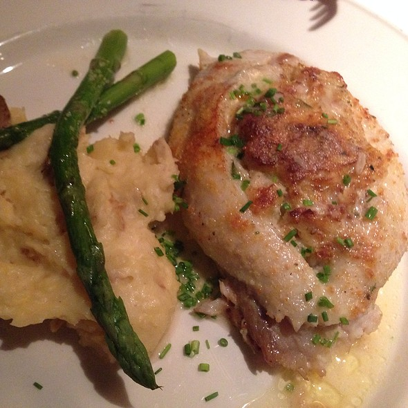Stuffed Tilapia - Chart House Restaurant - Savannah, Savannah, GA