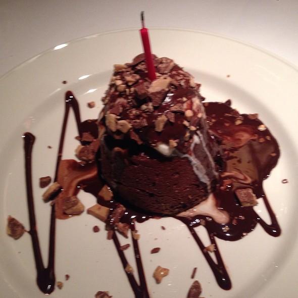 Chocolate Lava Cake - Chart House Restaurant - Savannah, Savannah, GA