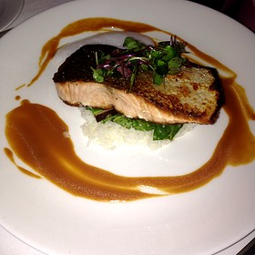 Pan Seared Salmon  - Peter Shields Inn, Cape May, NJ