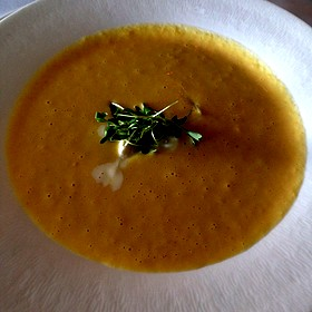 Summer Corn Soup - Peter Shields Inn, Cape May, NJ