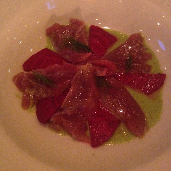 Tuna Crudo - South Edison, Montauk, NY