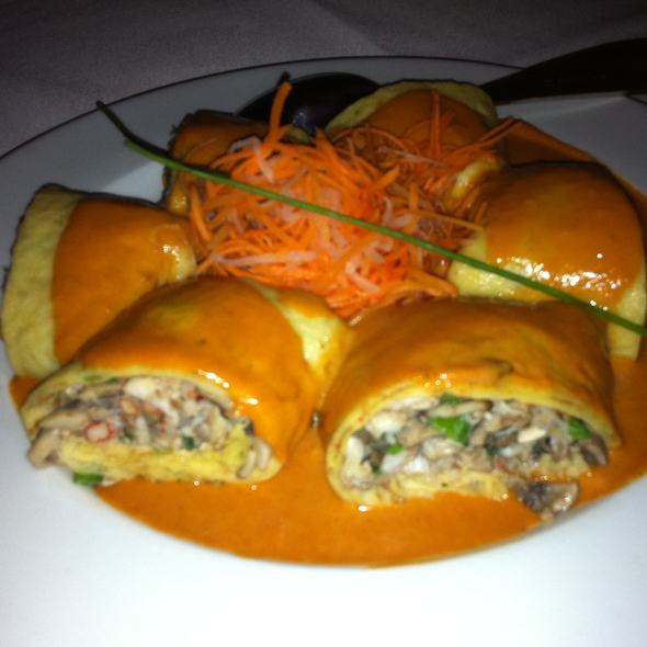 Lobster pancakes - China Grill - New York, New York, NY