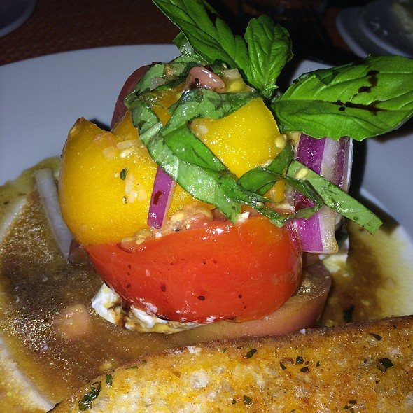 Tomato And Buffalo Mozzarella With Basil - Char Steakhouse - Raritan, Raritan, NJ