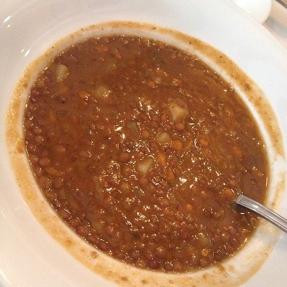 Lentil Soup - Ca Del Sole, North Hollywood, CA