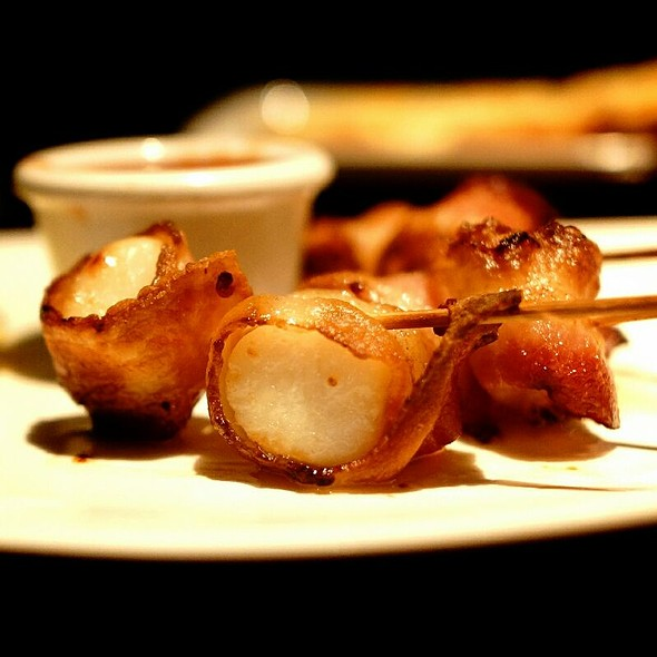 Scallops And Bacon - The Keg Steakhouse + Bar - Granville Island, Vancouver, BC