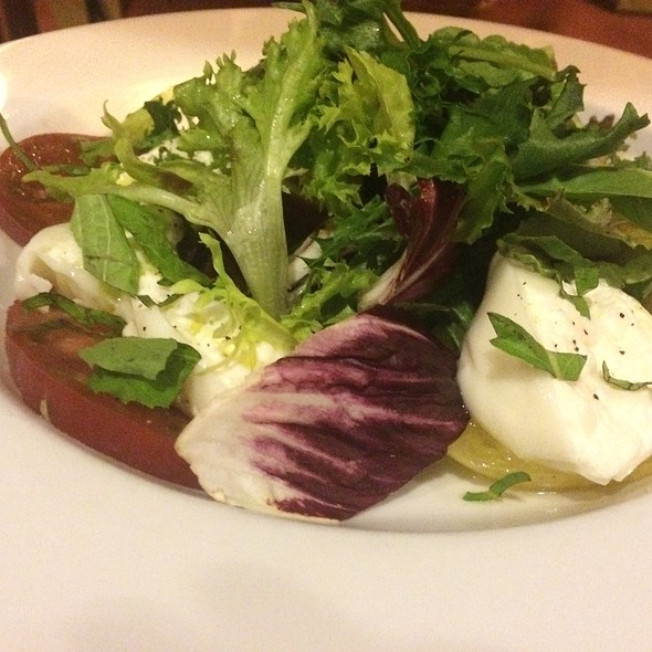 Burrata And Heirloom Caprese - Fabs, Sherman Oaks, CA