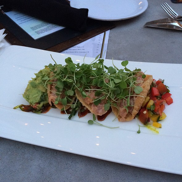 Ahi Tuna Tacos - Scape American Bistro, St. Louis, MO