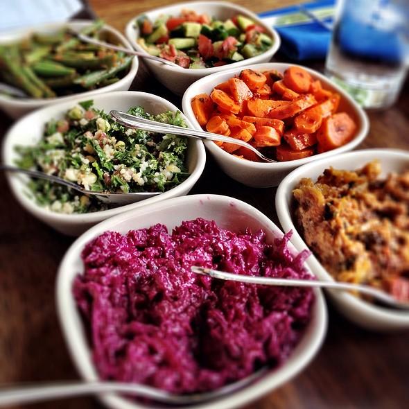 Salatim - 8 Small Salads - Zahav, Philadelphia, PA