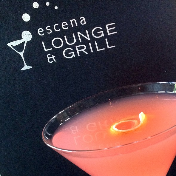Pink Rose - Escena Lounge & Grill, Palm Springs, CA