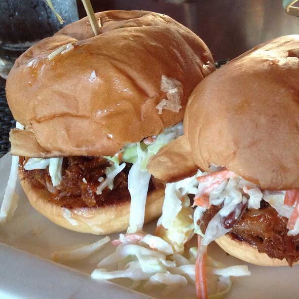 Pulled Pork Sliders - Escena Lounge & Grill, Palm Springs, CA