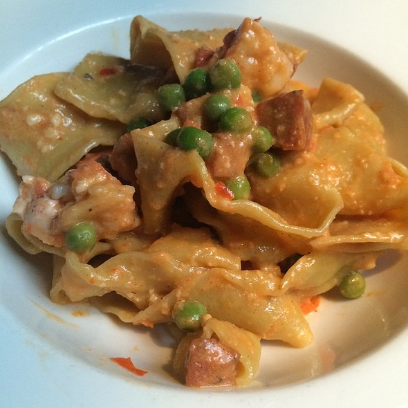 Lobster Pappardelle - One if by Land, Two if by Sea, New York, NY