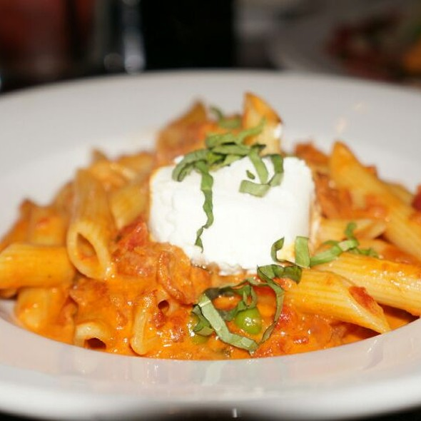 Penne Ala Vodka with Ricotta - Sorrisi, Coconut Creek, FL