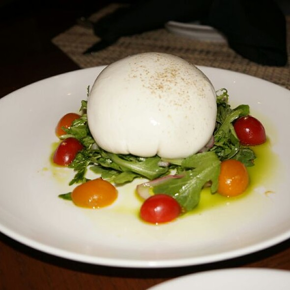 Burrata Salad with Arugula, Tomatoes and Citrus Vinaigrette - Sorrisi, Coconut Creek, FL