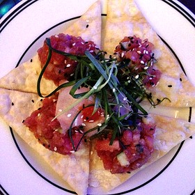 Spicy Tuna Poke - Oceanaire Seafood Room - Boston, Boston, MA